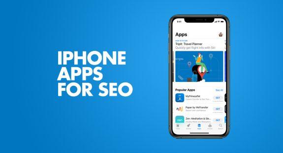 iPhone SEO Apps