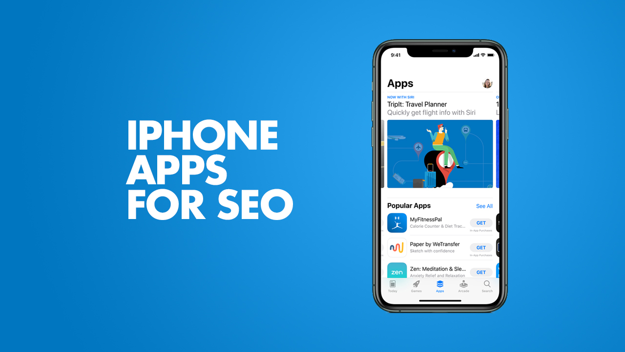 iPhone SEO Apps