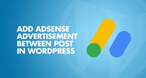 Add AdSense Advertisement between Blog Posts
