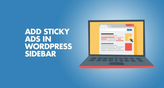Add Sticky Ads In WordPress SideBar