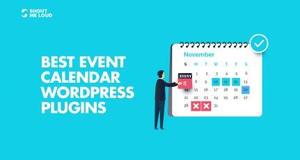 7 Best Event Calendar WordPress Plugins For Website
