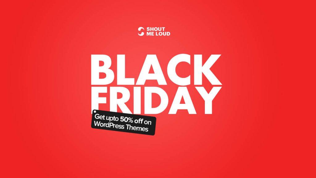 Black Friday WordPress Theme Deals