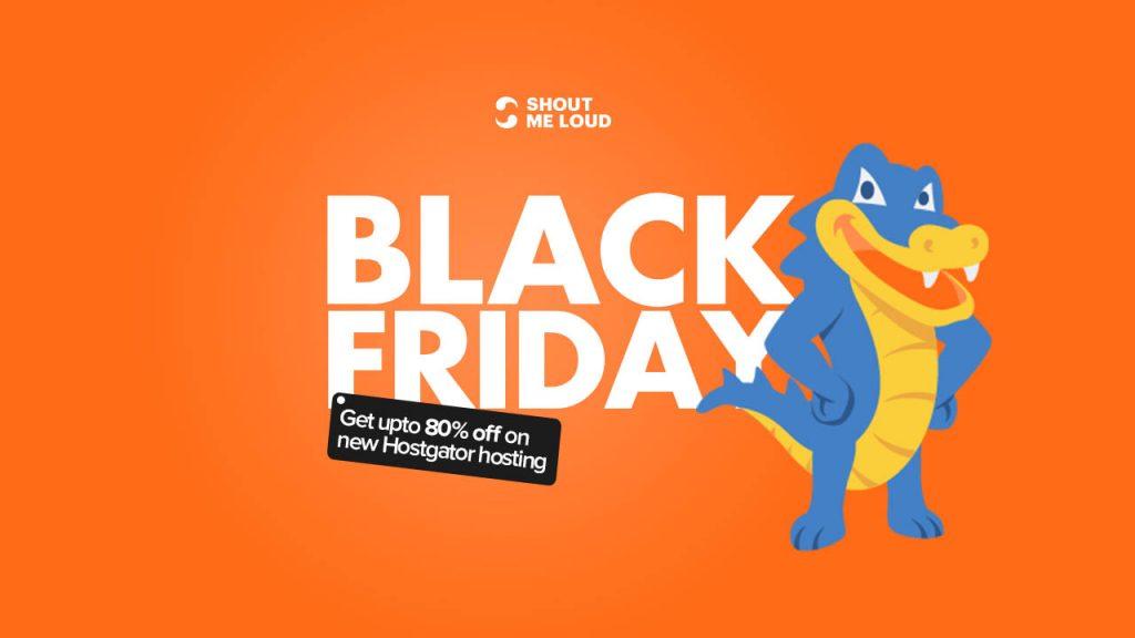 Black Friday hostgator Deals