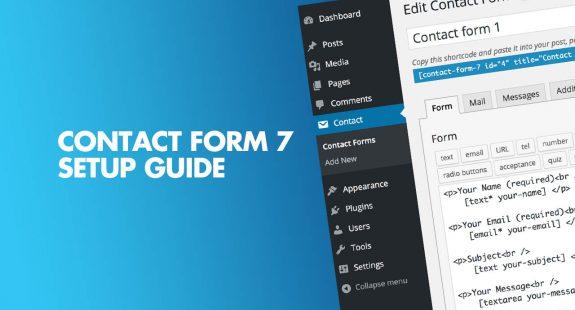 Contact form 7 Setup guide