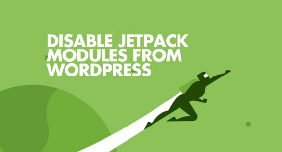 Disable JetPack Modules on WordPress