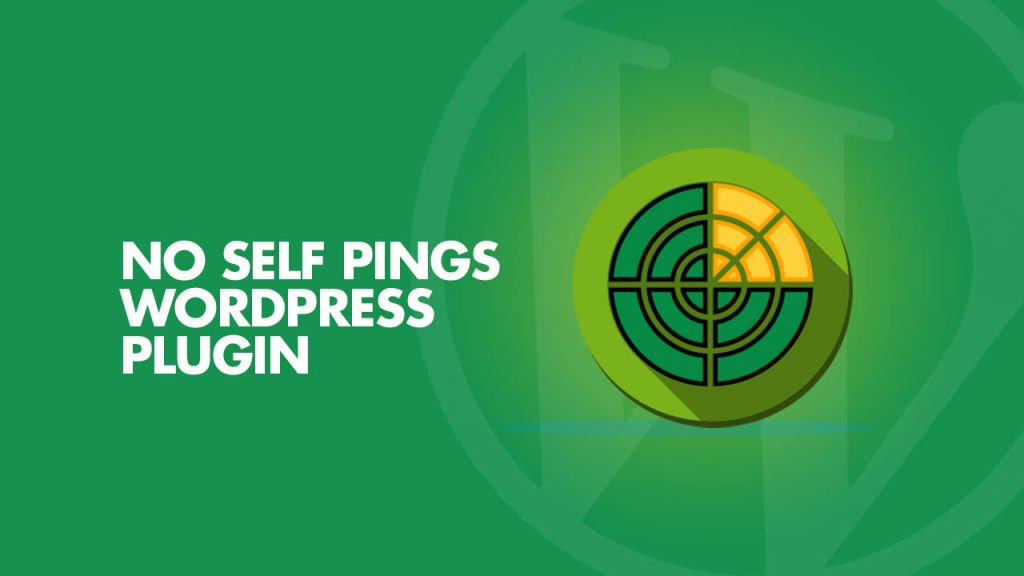 No self pings WordPress Plugin
