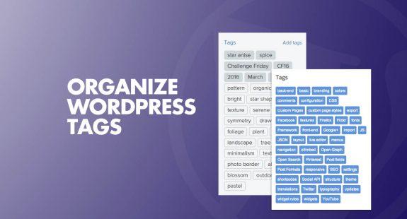 Organize WordPress Tags
