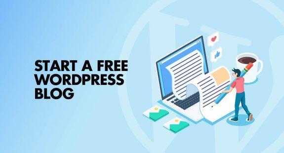 Start free wordpress blog