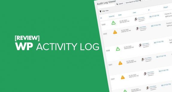 WP Activity Log Review