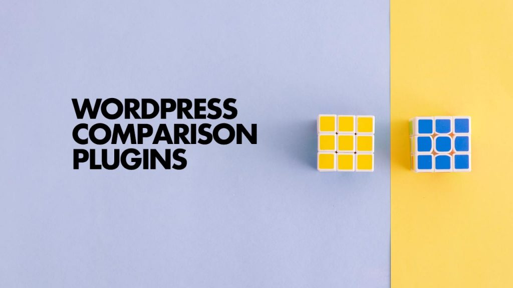 WordPress Comparison Plugins
