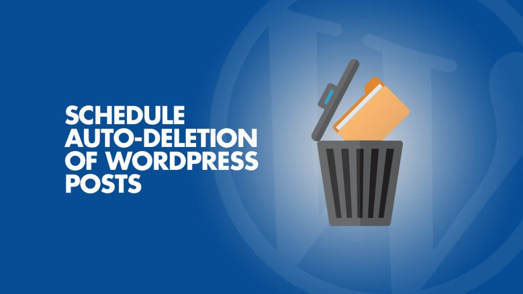 Auto-Deletion of WordPress Post