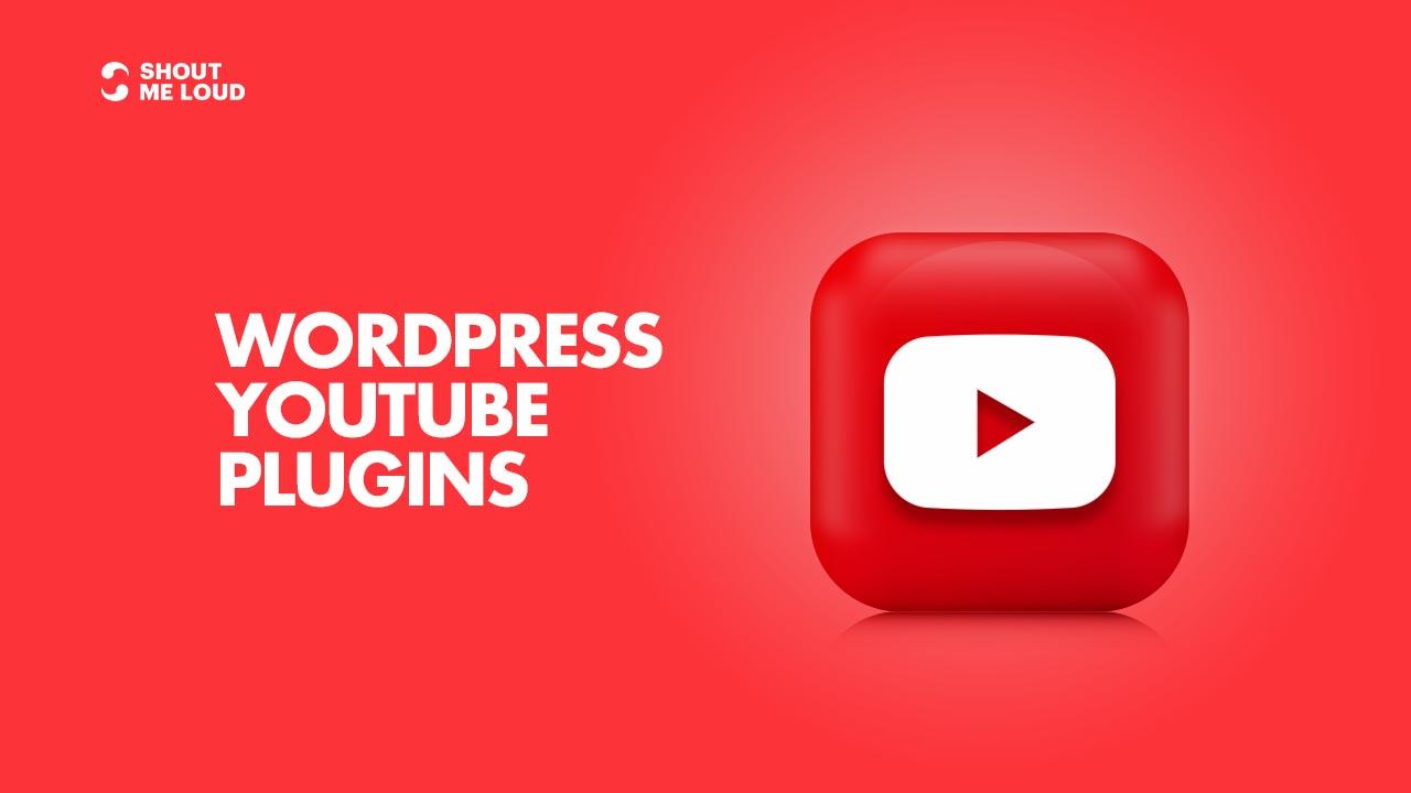 Best WordPress YouTube Plugins