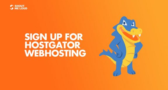 Sign up for Hostgator Hosting