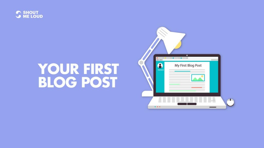 Your First Blog Post