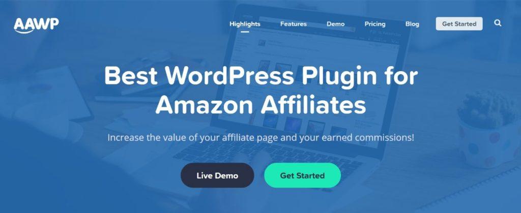 AAWP Amazon Affiliate WordPress plugins