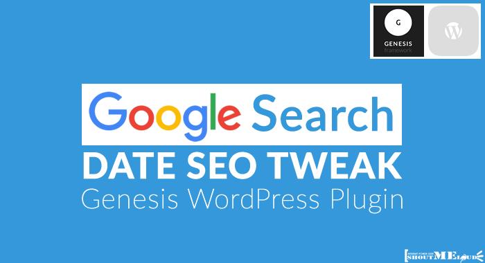 Genesis Search Date SEO WordPress Plugin