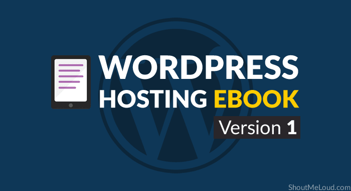 WordPress Hosting eBook Version 1
